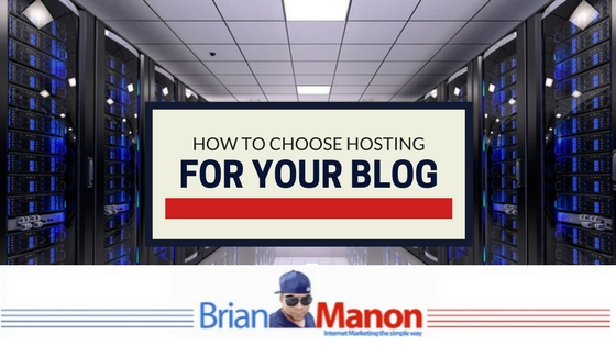 How to choose hosting for your blog