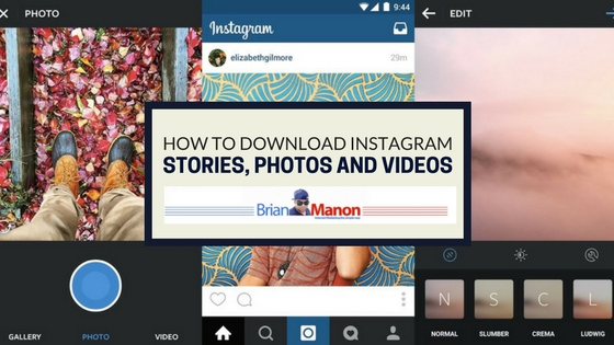 How to download Instagram stories, photos and videos [Tool