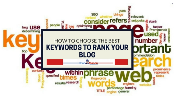 How to choose the best keywords to rank your blog