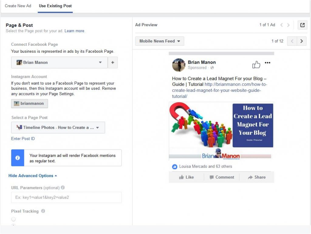 how to create second ad account facebook