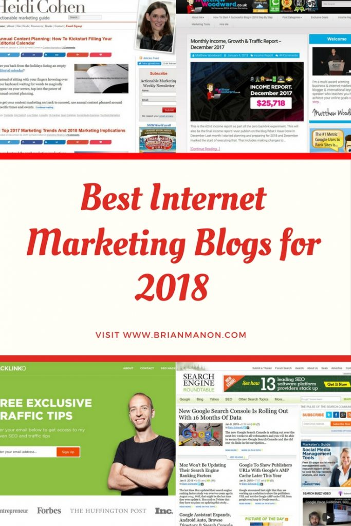 Top Digital Marketing blog of 2018