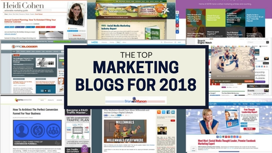 Best Internet Marketing Blogs for 2018