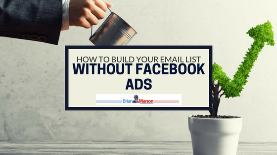 How To Build Your Email List Without Facebook Ads