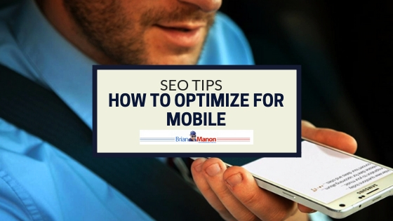 SEO Tips – How to Optimize For Mobile