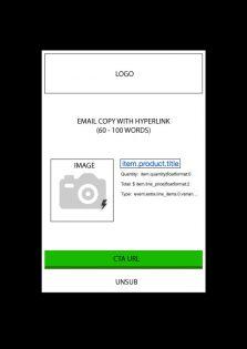 Klayvio email template